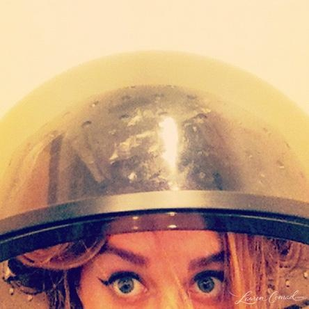 getting my hair did #laurenconrad #hair #beauty