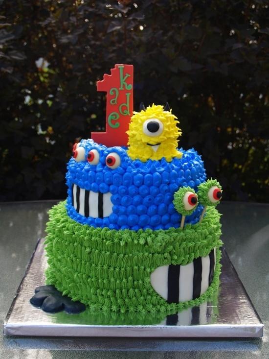 Monster 1st Birthday