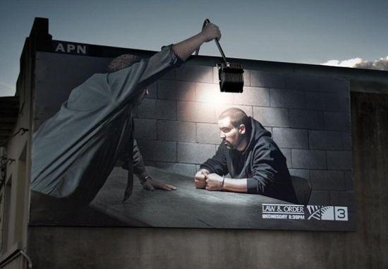Nur Ellena @ Helen Davice: Kreatif: Iklan 'Cool' Pada Bangunan
