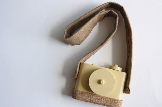 pixie wooden toy camera from twig creative on etsy $35