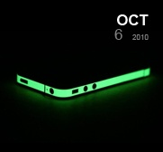 Glow in the dark iphone wrapper