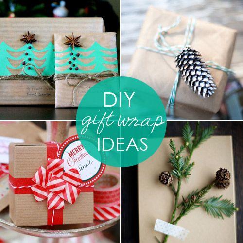 Make It Pretty: 16 Amazing DIY Gift Wrap Ideas