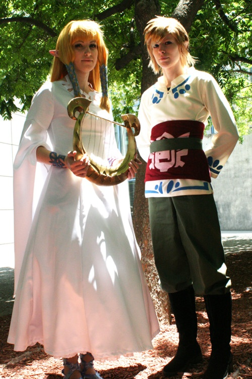 Zelda and Link -The Legend of Zelda: Skyward Sword