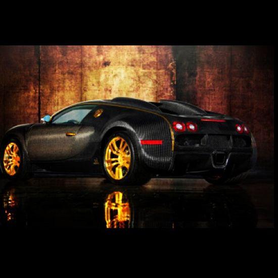 Dark Bugatti Veyron