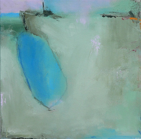 Abstract Landscape Painting by Jacquie Gouveia