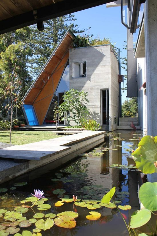 Mitchell and Stout Architects #Architecture: #Modern #House #Design by James Choate