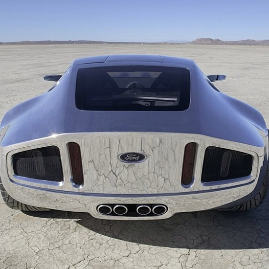 Chrome Ford Shelby GR 1 OMG! OMG! OMG!