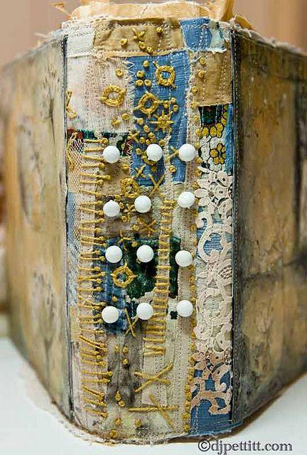 Journal Spine - DJ Pettitt handmade book