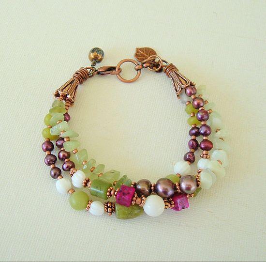 Boho Bracelet Layered by BohoStyleMe