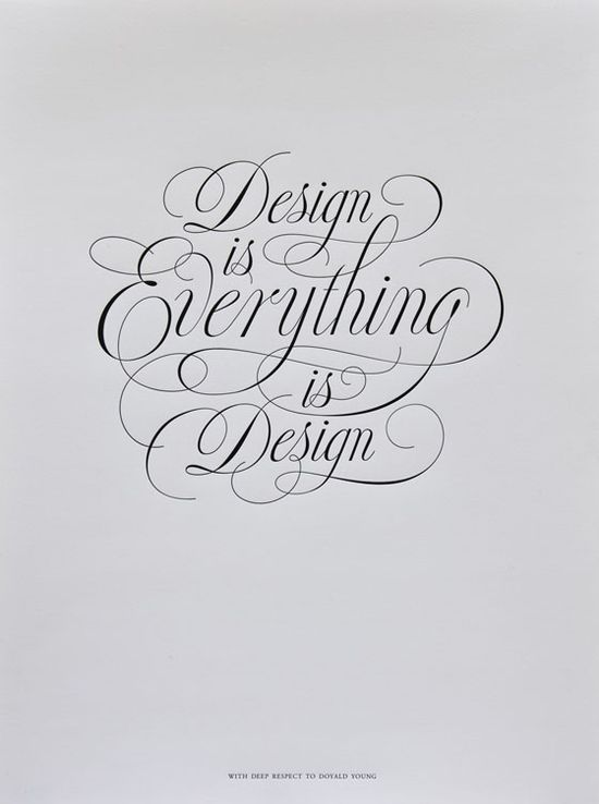 everything is #design