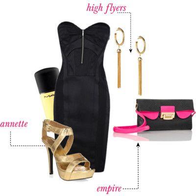 Empire clutch #handbags