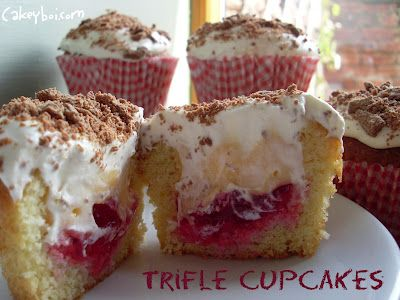 Trifle Cupcakes