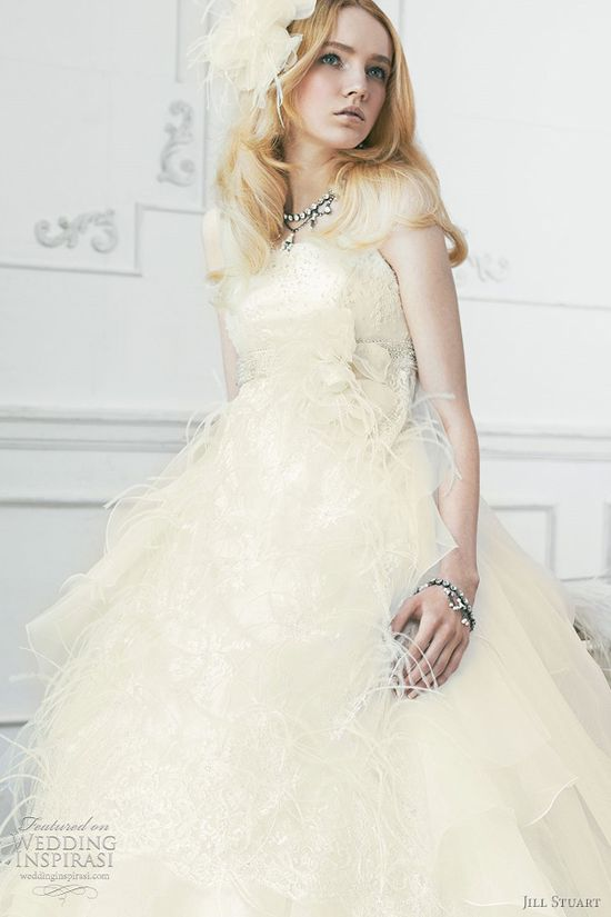 Jill Stuart Wedding Dresses 2011 — The Sixth Collection