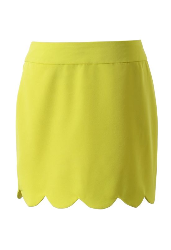 Cute Scalloped Skirt.