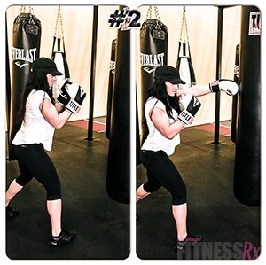 Cardio Boxing Workout- Burn Fat While Building Strength! The cardio and strength benefits you get from a boxing workout are amazing.