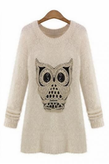 Cartoon Owl Dress
