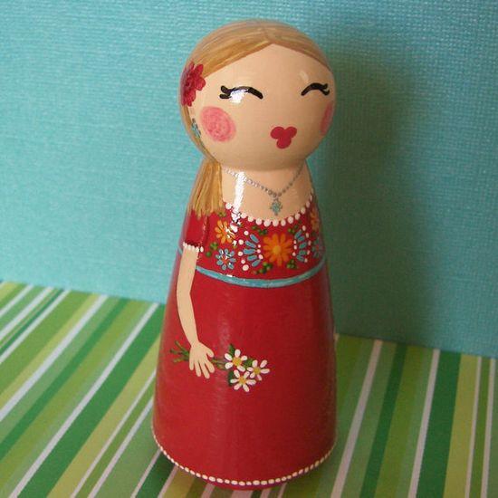 Peg doll