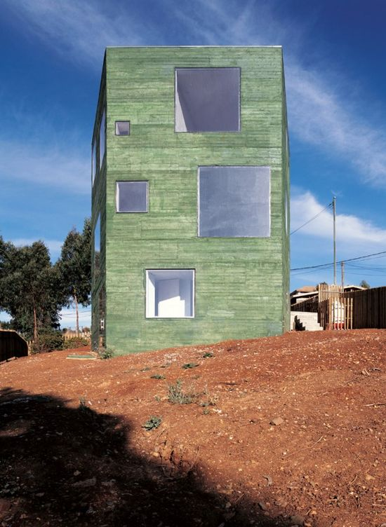 Fosc House / Pezo von Ellrichshausen Architects/Road to El Venado nº 1130, San Pedro, Chile