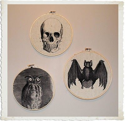 Free Halloween graphics printable.  Great idea for pillows, t-shirt and more.