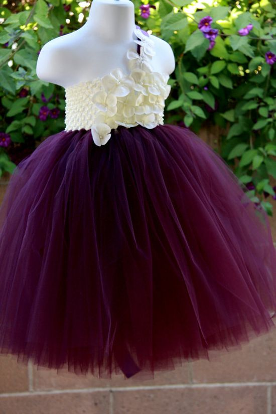 Flower girl dress.