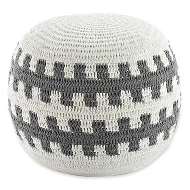 Happy Chic by Jonathan Adler Charlotte Round Pouf - jcpenney