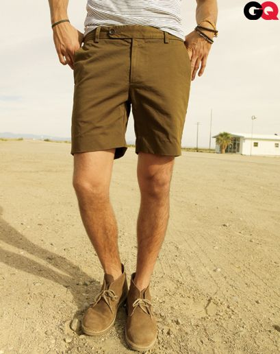 Transitional chukkas: styling your favorite fall boots for summer ...