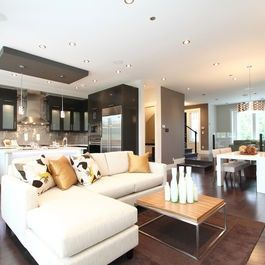 Living Photos Dark Floors Design, Pictures, Remodel, Decor and Ideas - page #floor design #floor design ideas #floor designs #modern floor design #floor decorating before and after
