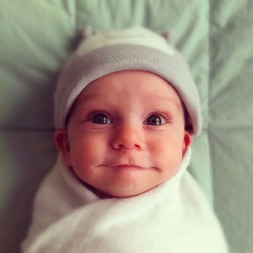 ~ OMG how could you not smile too when looking at this baby!!! ~