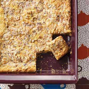 Caramel-Pecan Dream Bars - Taste of Home