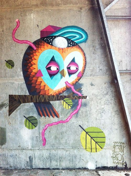 Low Bros: Street Art on My Owl Barn