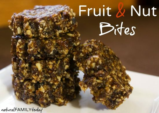 Homemade Fruit and Nut Energy Bites