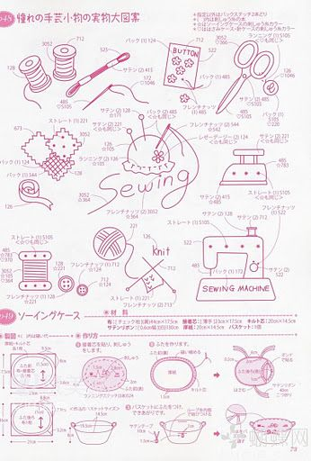 simple sewing embroidery patterns