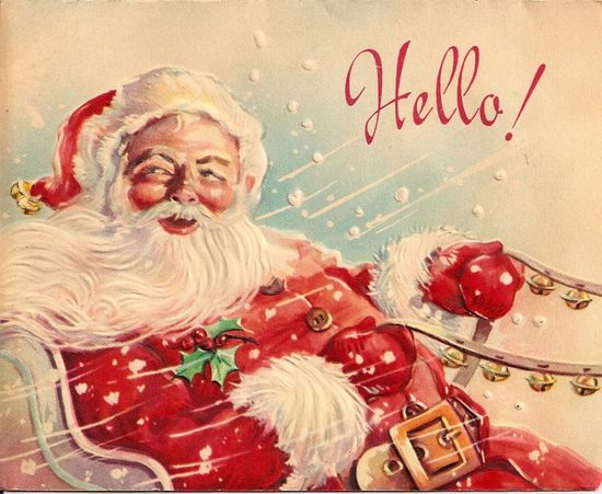 Vintage Christmas cards :-)