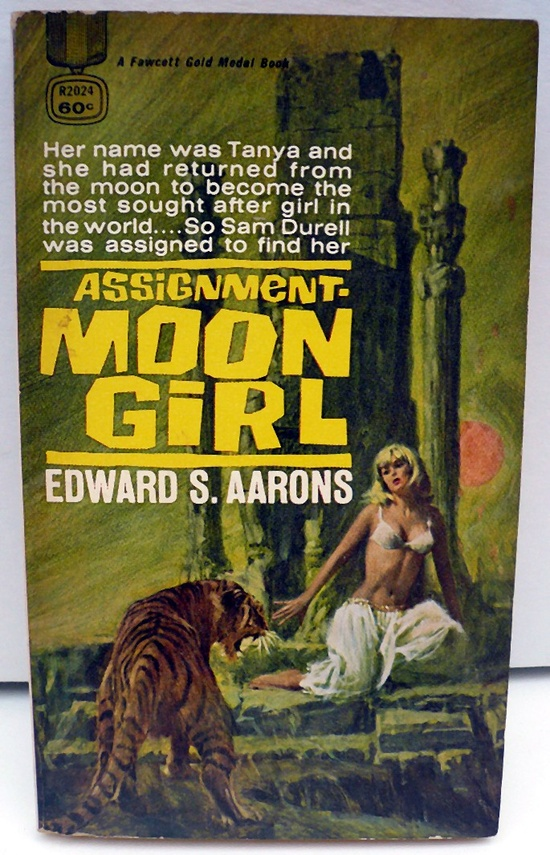 """Here's FIVE Hard boiled Spy Fiction novels """"Assignment series"""" by Edward S. Aarons featuring Cajun CIA agent Sam Durell. The series lasted over twenty years, from 1955 to 1976."""