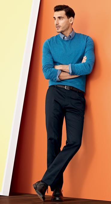 Banana Republic Spring 2013 Collection, Like the color of that blue pullover, Mens style