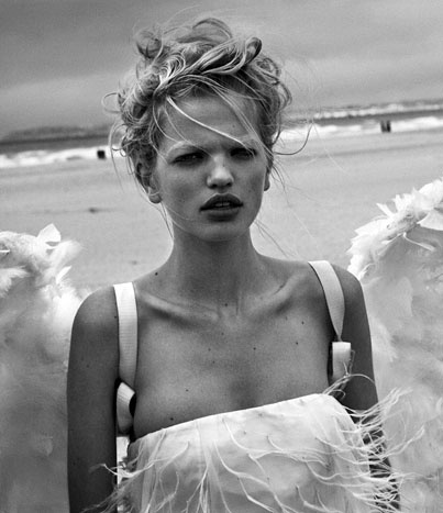 Wings of Desire - Daphne Groeneveld by Peter Lindbergh
