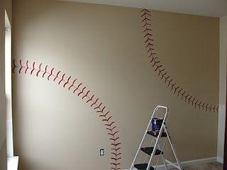 baseball theme bedroom