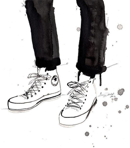 by Jessica Durrant titled, Chucks in the City.