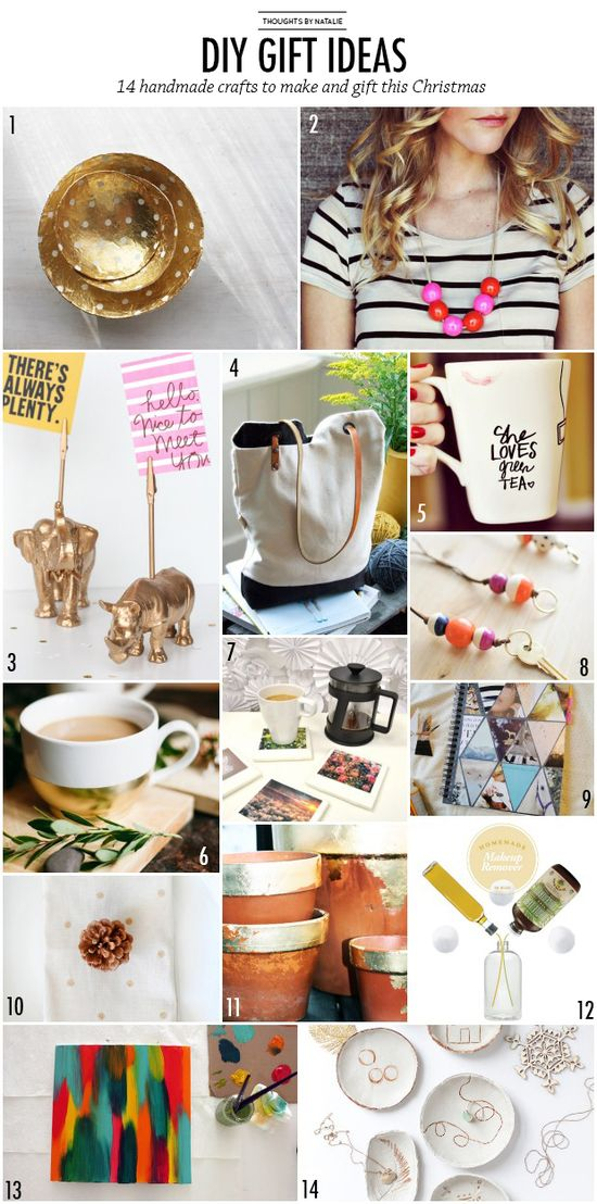 DIY gift idea round-up // thoughts by natalie.