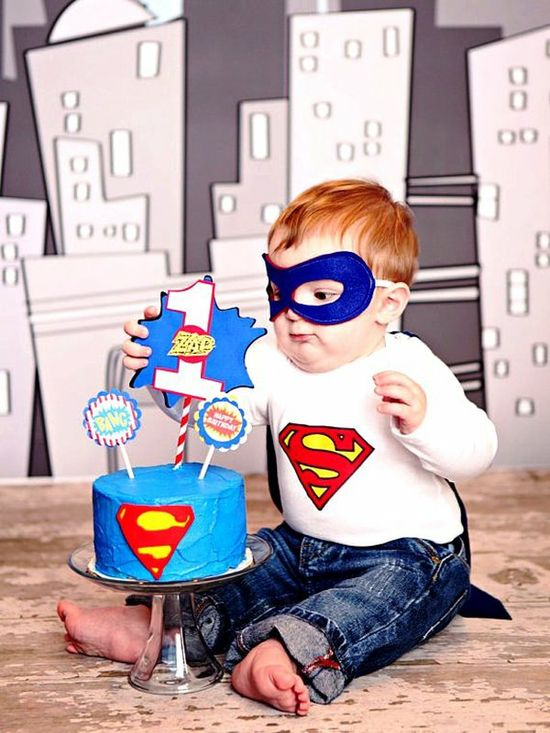 adorable [superhero baby outfit]