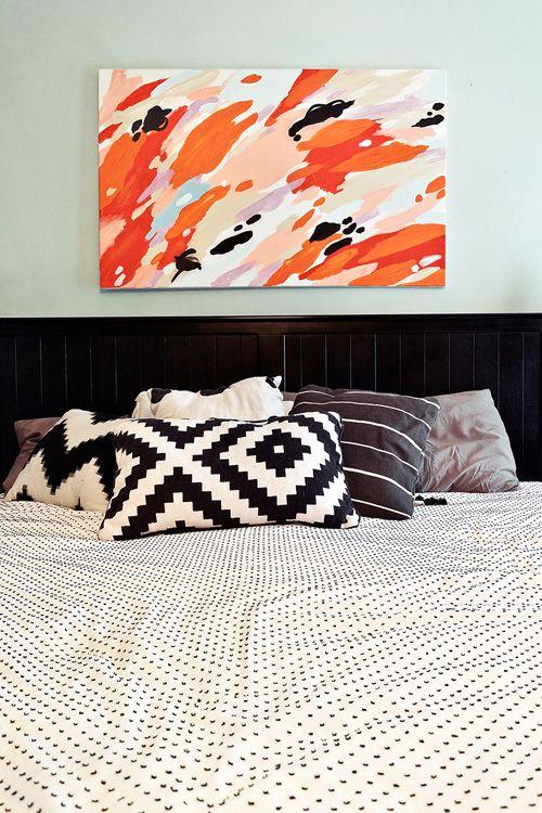 Pillows + sheets
