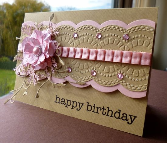 Pink and Kraft Birthday