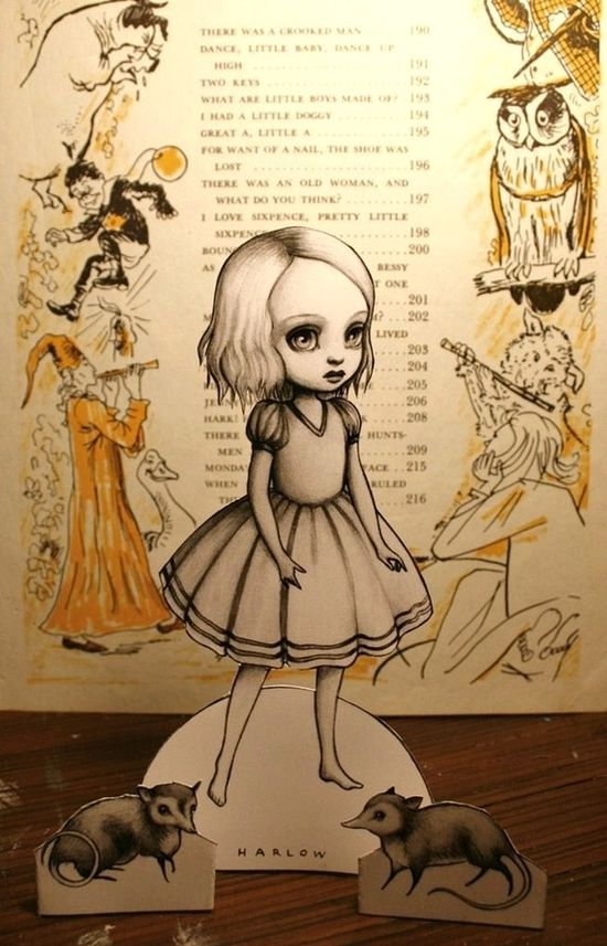 Harlow paper doll