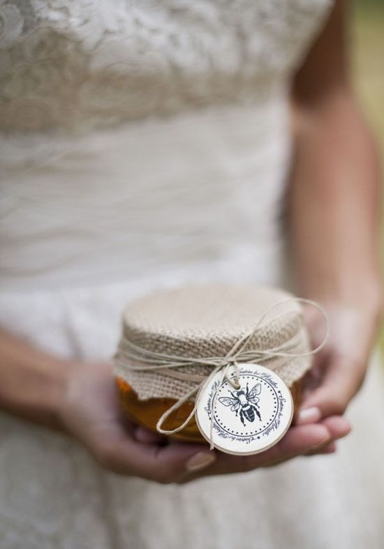 honey. gift. wedding