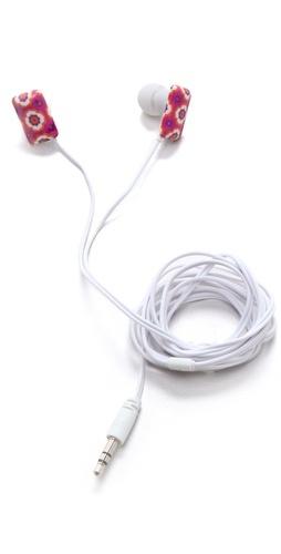 Jonathan Adler Retro Floral Ear Buds
