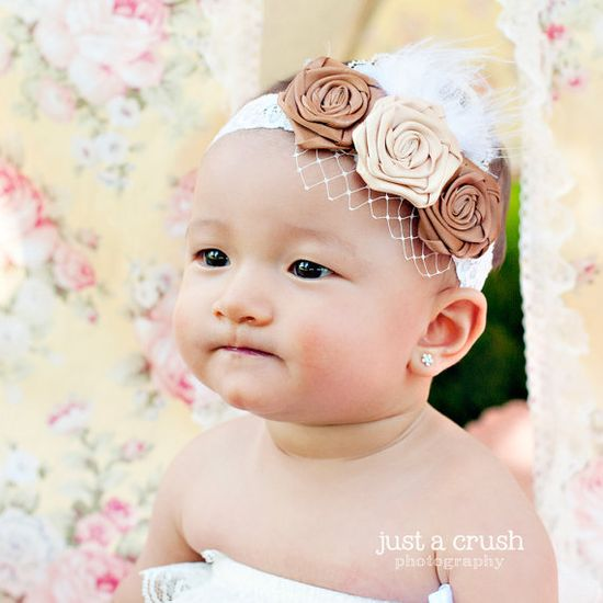 """Search """"Mocha"""" at www.artisticincli... to purchase this handmade headband by Artistic Inclinations"""
