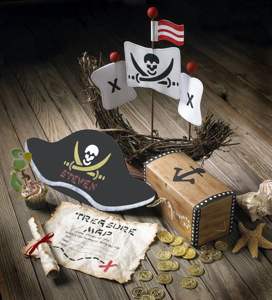Craft Painting - Pirate Party Set