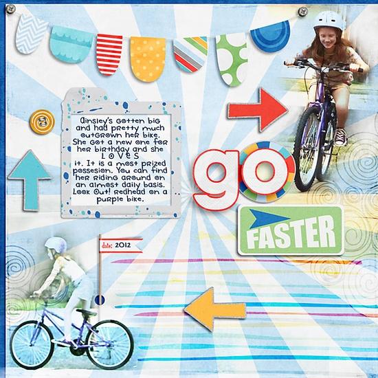 go faster - Scrapbook.com