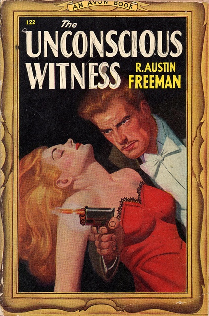 The Unconscious Witness (1947) by Book Covers: Vintage Paperbacks, Mars Sci-Fi, via Flickr