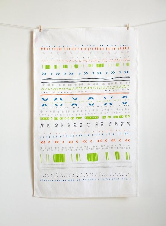 pretty kitchen towel